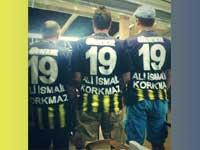 """Süper Kupa maçında İstanbul United tribünleri """"Her Yer Taksim Her Yer Direniş tezahüratıyla inledi"""
