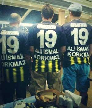 """Fenerbahçe Salzburg maçı """"Her Yer Taksim Her Yer Direniş tezahüratlarıyla inledi"""