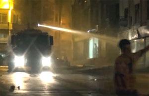 Ali İsmail Korkmaz Hatay Armutlu'da 1 kişilik gruplara (!) TOMA ile müdahale