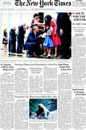 """NewYork Times: """"Kanıt nerede Mr. Obama?"""""""