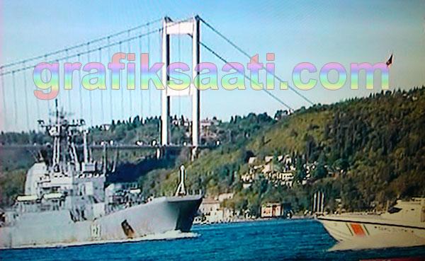 Yeni Rus savaş gemileri Boğaz'ı geçti