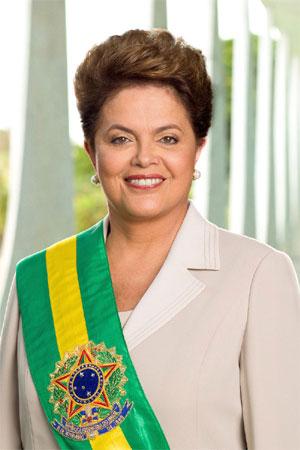 Brezilya Cumhurbaşkanı Dilma Rousseff