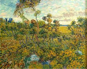 Van Gogh Sunset at Montmajour - Montmajour'da Günbatımı