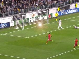 Galatasaray Juventus Galat6asarayın ilk golü