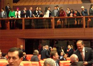 TBMM türbanlı kadın milletvekilleri