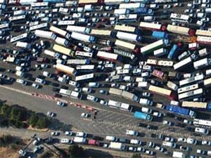 Boğaziçi köprüsü trafik ve yol durumu