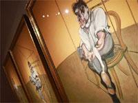 Francis Bacon Lucian Freud üçlemesi