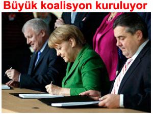 Almanya: Büyük koalisyon kuruluyor