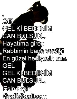 Mektup şiir Esin Ergin
