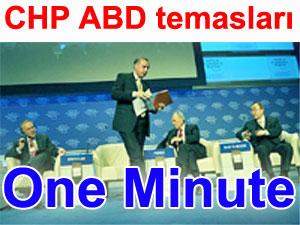 """Kılıçdaroğlu, Babakan'ın """"one minute"""" çektiği moderator ile görüştü"""