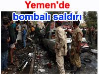 Yemen Savunma Bakanlığı'nda bombalı saldırı