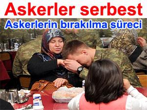 Kaçırılan askerler BDP'nin arabuluculuğu sonucu serbest bırakıldı