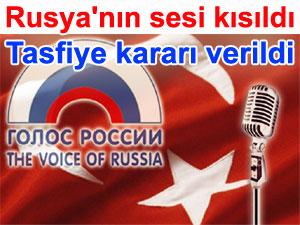 Rusya'nın sesi kısıldı