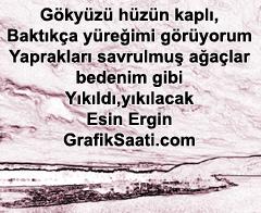 Hüzmüm şiir: Esin Ergin