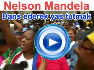 Mandela: Sevilen bir insanı şarkı söyleyip dans ederek anmak | BBC ortak yayın - Video