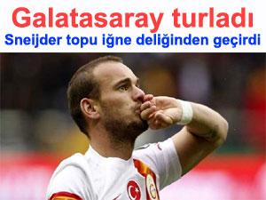Galatasaray turladı Galatasaray:1 Juventus:0