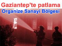 Doğalgaz patlaması Gaziantep