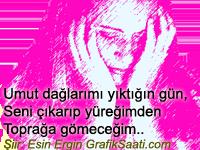 beni yıktığın gün şiir: Esin Ergin