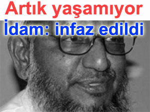 Abdülkadir Mollla idam edildi