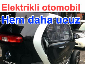 Elektrikli arabalar otomobiller otomotiv sektörü