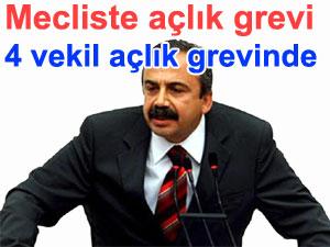Dört HDP Milletvekili açlık grevinde