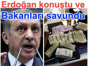 Erdoğan konuştu ve yavuz hırsız ev sahibini bastırdı | Rüşvet ve yolsuzluk operasyonu