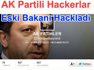 AK Partili saldırganlar eski Bakan'a saldırdı