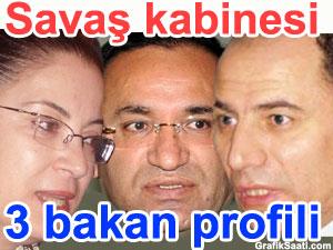 """""""Savaş kabinesi"""" ve Erdoğan'ın son kabinesinden 3 Bakan profili"""