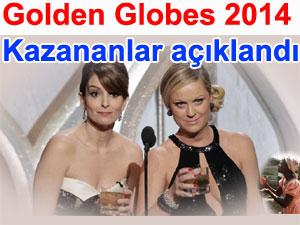 2014 Golden Globes wins Altın Küre ödülleri kazananlar