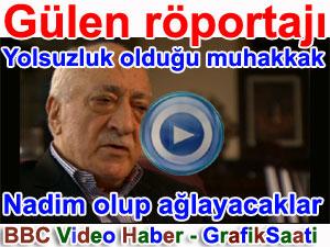 Fettullah Gülen Röportajı BBC