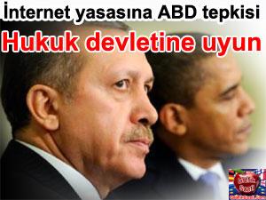 Obama Erdoğan'ı uyardı: internet yasası ifade özgürlüğüne aykırı