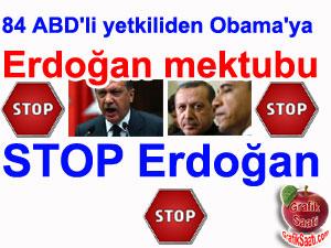 Amerikadan mektup: Stop Erdoğan