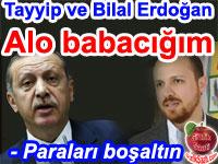 Recep Tayyip Erdoğan ile oğlu Bilal Erdoğan arasında gerçekleştiği öne sürülen ses kaydı ve deşifresi