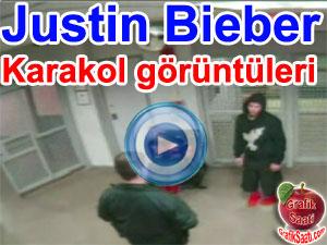 Justin Bieber: Karakol görüntüleri | BBC ortak yayın video haber