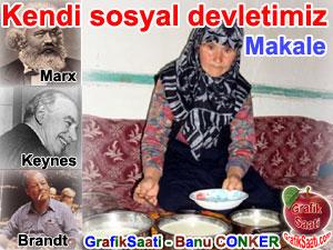 Kendi kişisel sosyal devletimizde yaşam - Yazan: Banu Conker