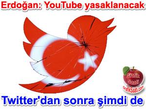 Twitter'den sonra şimdi de  youtube yasağı