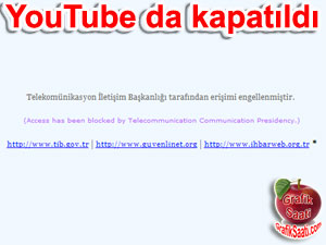 You Tube kapatıldı