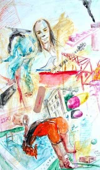 Ahmet Erkmen Senan sanat çalışmaları
