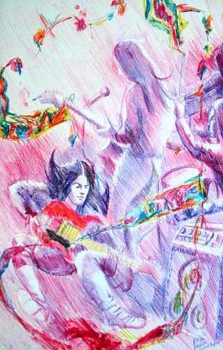 Ahmet Erkmen Senan Ritchie Blackmore tablosu