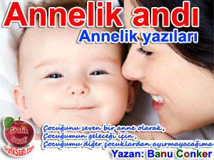 Annelik andı Yazan: Banu Conker
