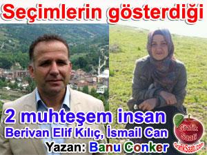 Kocaköy belediye başkanı Berivan Elif Kılıç ve Bartın Ulus Kumluca belediye başkanı İsmail Can