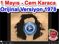 1 Mayıs Marşı Cem Karaca 1978 Orjinal versiyon