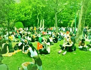 İstanbul Taksim Gezi Parkı Istanbul Taksim Square