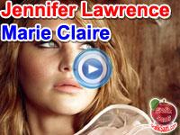 Jennifer Lawrence, Beyoncé'nin Survivor şarkısıyla dans ederek Marie Claire dergisine poz verdi - Video haber