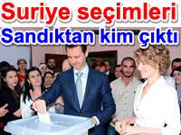 Suriye seçimleri: Sandıktan kim çıktı, seçimleri kim kazandı