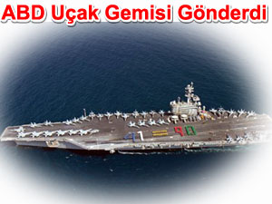 Amerika uçak gemisi gönderdi | Irak gerilimi