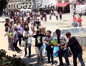 Gezi Parkı direnişinden öğrendiklerim imece karpuz taşıma