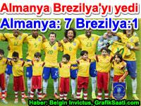Almanya Brezilya'yı bildiğin yedi (7) Almanya:7 Brezilya:1 haber Belgin Elçioğlu Invictus