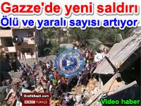 Gazze'ye yeni saldırı - İsrail Filistin savaşı | BBC video haber