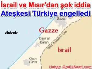 İsrail ve Mısır'dan şok iddia ateşkesi Türkiye ve Katar engelledi